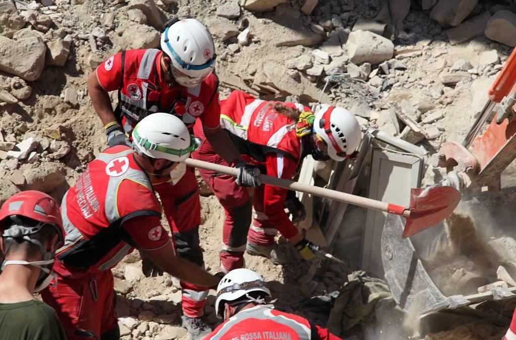 Terremoto Italia Centrale – Aiuti Croce Rossa Vicenza
