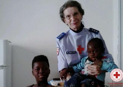 Sorelle in Comitato a Vicenza in servizio con Area 2 per assistenza profughi minori